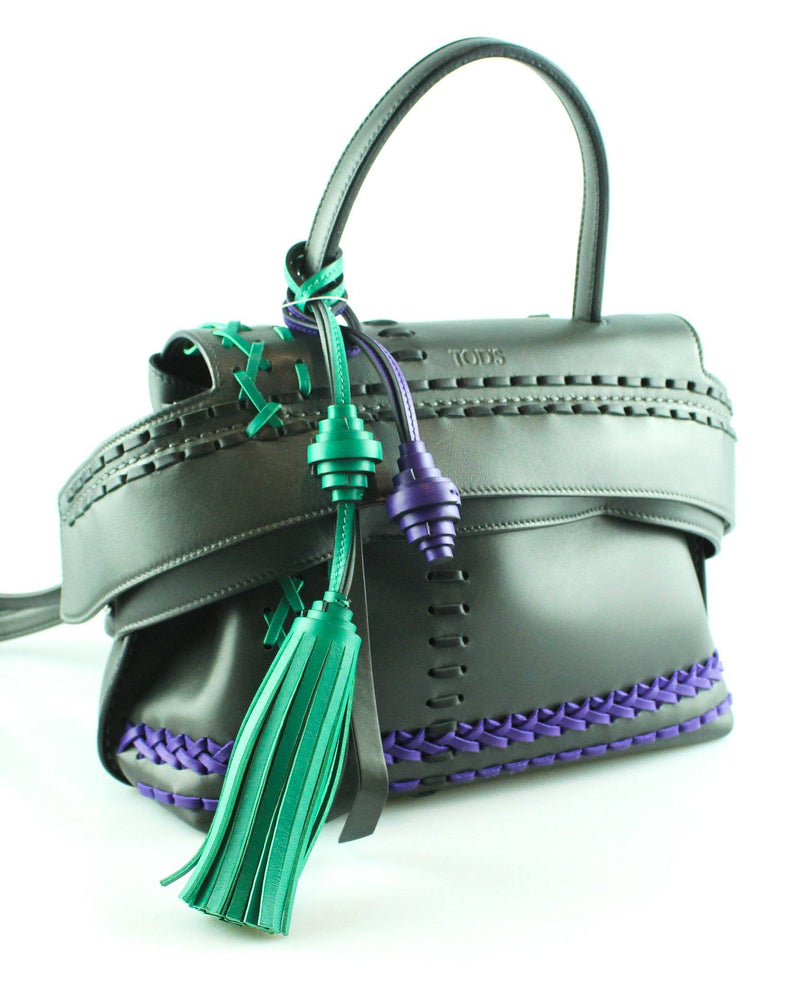 Tod's Mini Wave Bag Tassels