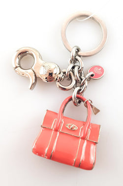 Mulberry Bayswater Key Chain Metal Bag Charm