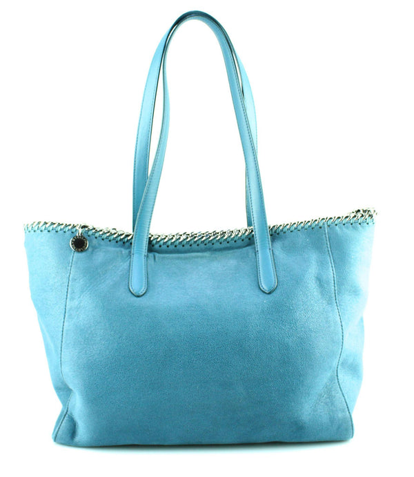 Stella McCartney Blue Falabella East West Shopper
