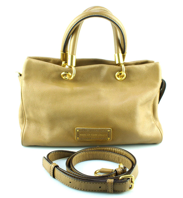 Marc By Marc Jacobs Caramel Small Too Hot To Handle Tote With Strap