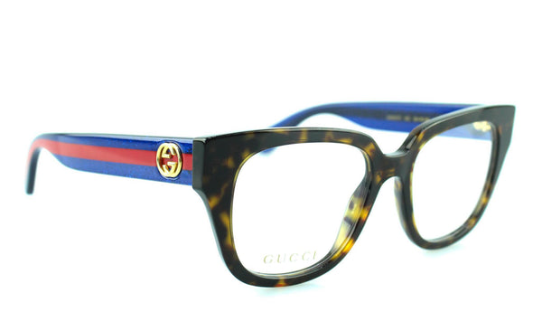 Gucci Web Frame Dark Tortoise GG037O Reading Glasses