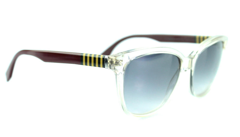 Fendi 0054/S FF Pequin Clear/Burgundy Sunglasses