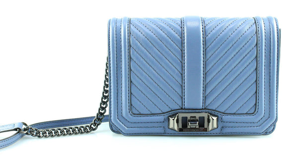 Rebecca Minkoff Quilted Love X Body Steel Blue