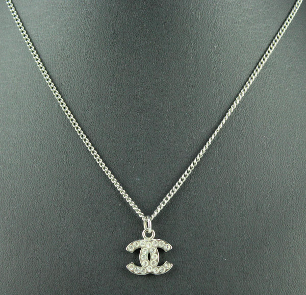 Chanel Diamante CC Necklace Short 2007