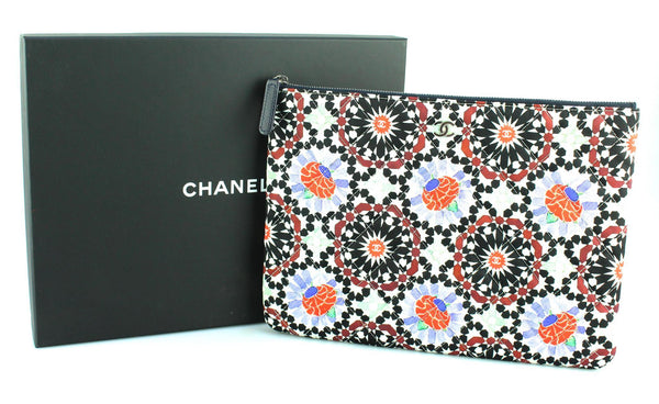 Chanel VIP Paris Dubai Kaleidoscope Zip Pouch