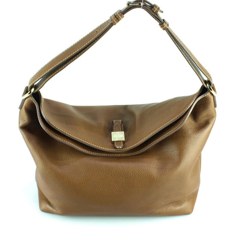 Mulberry Tan Leather Tessie Hobo Soft Small Grain