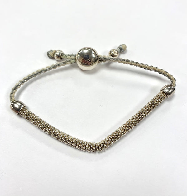 Links Of London Stardust Bracelet Sterling Silver With Goldtone