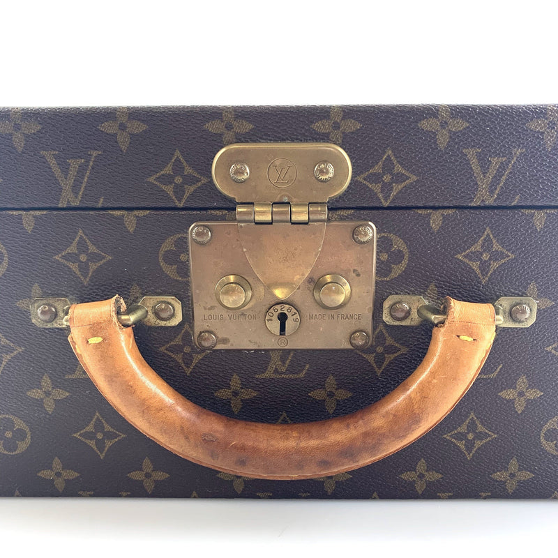 Louis Vuitton Vintage Super Presidente Monogram Briefcase (Early 80's)