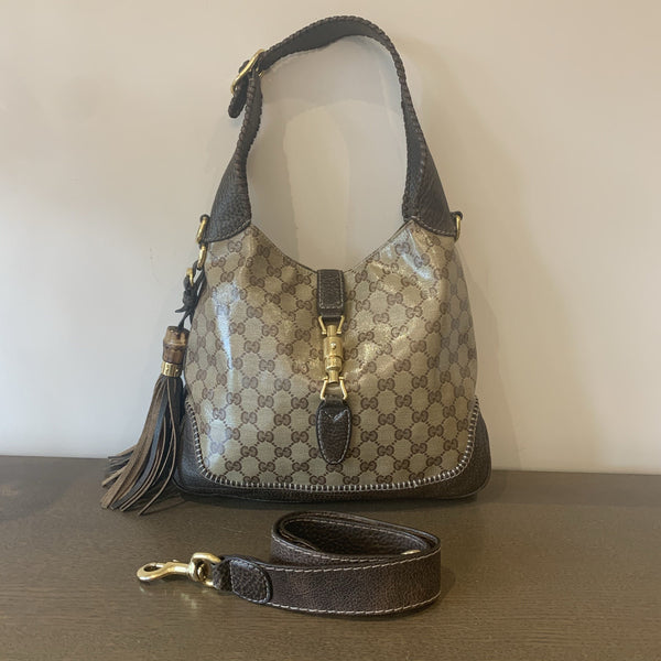 Gucci GG Crystal New Jackie Hobo GH