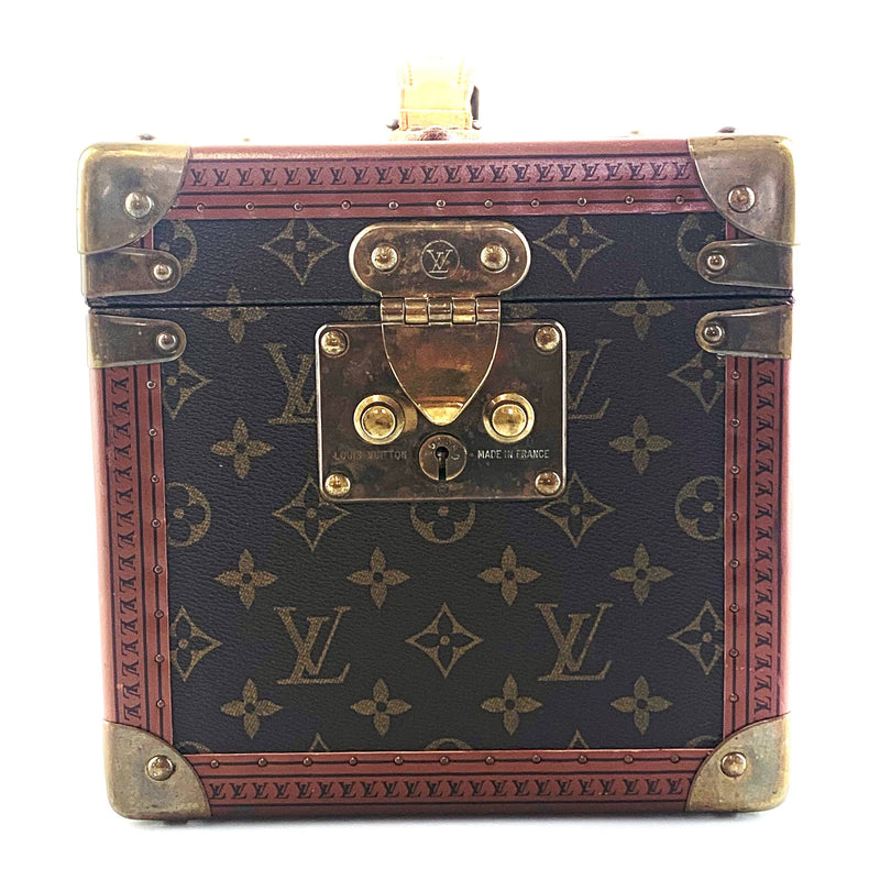 Louis Vuitton Vintage Boite Flacons Beauty Monogram Canvas Cosmetic Trunk Case