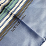 Hermes 90 x 90 Faubourg Express Silk Scarf