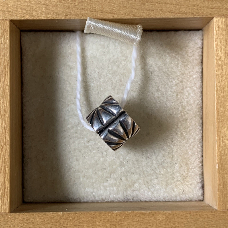 Pandora Sterling Silver Floral Lines Spacer Charm