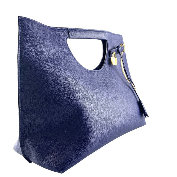 Tom Ford Med Alix Hobo Cobalt