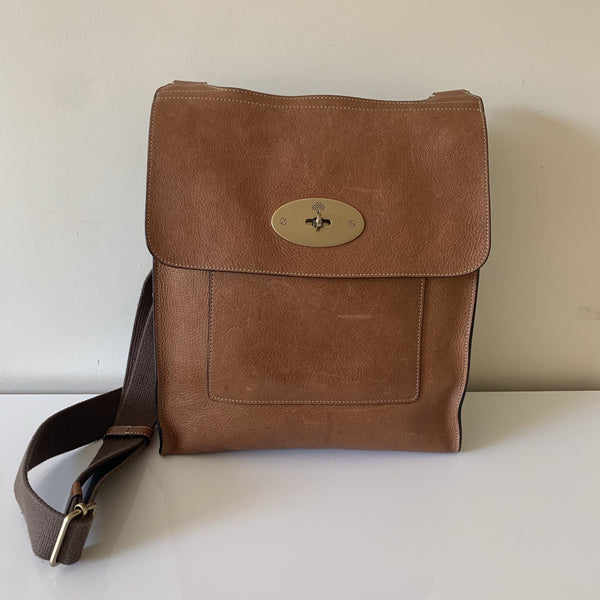 Mulberry Tan Leather Antony Large RRP €825