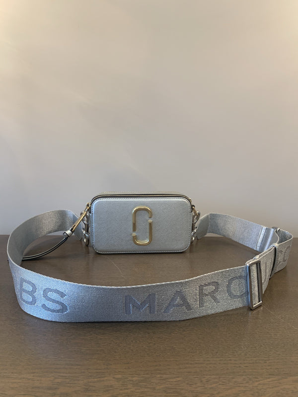 Marc Jacobs The Snapshot Small Camera Bag Silver SGH