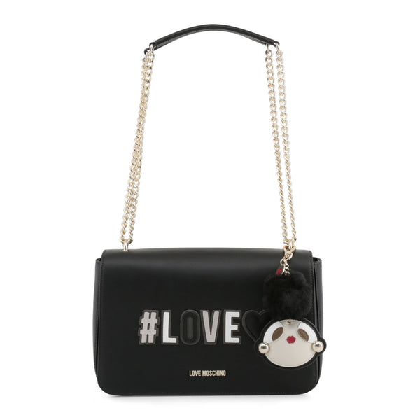 Love Moschino Black Love Chain Bag