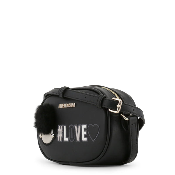 Love Moschino Black Love Camera Bag