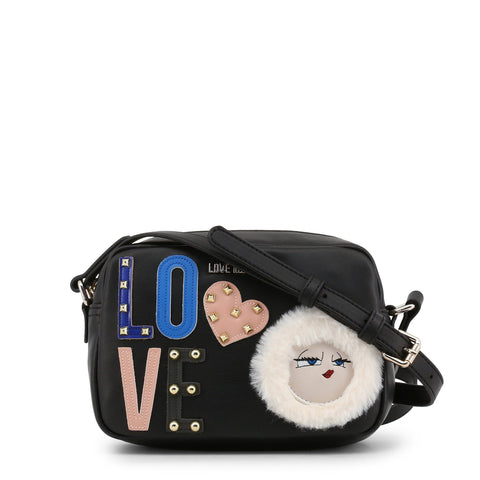 Love Moschino Small Camera Bag Studded Love