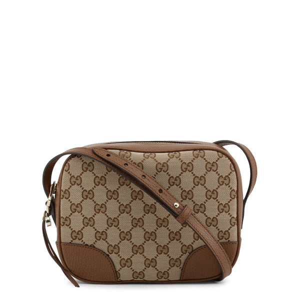 Gucci Bree Camera Bag Tan Leather Trim