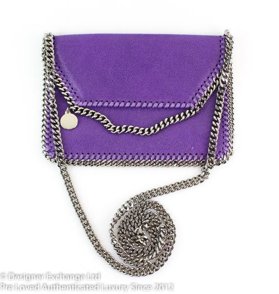 Stella McCartney Purple Falabella Cross Body (2)
