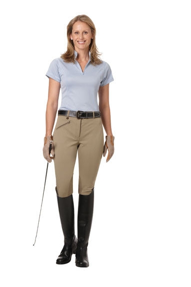 Ovation EuroWeave Knee Patch  Breech - Women