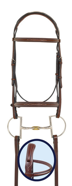 Ovation RCS Fancy Stitched Padded Bridle