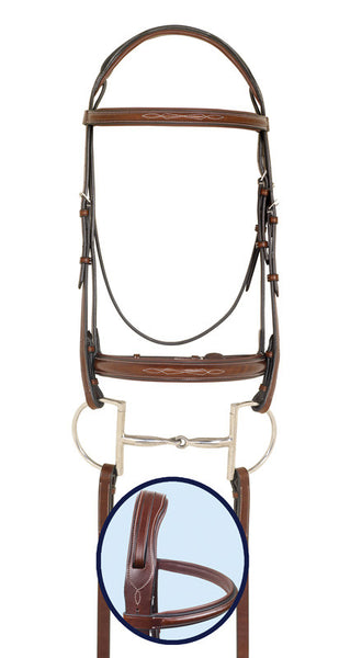 Ovation RCS Wide Padded Nose Bridle