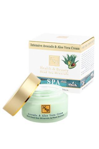Health & Beauty - Intensive Avocado & Aloe Vera Cream - Dead Sea Cosmetics Shop