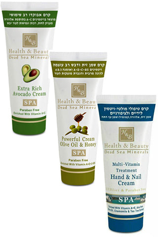 Health & Beauty  - Triple Set - Dead Sea Cosmetics Products