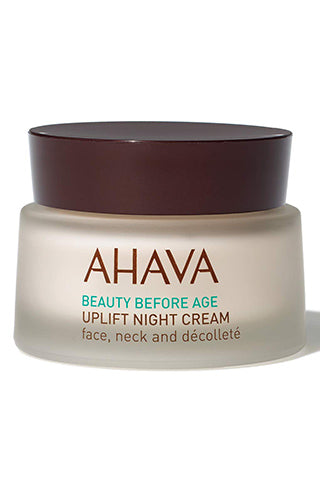 AHAVA - Uplift Night Cream - Dead Sea Cosmetics Products