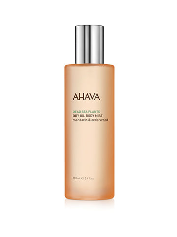 Ahava - Dry Oil Body Mist - Mandarin & Cedarwood - Dead Sea Cosmetics Shop