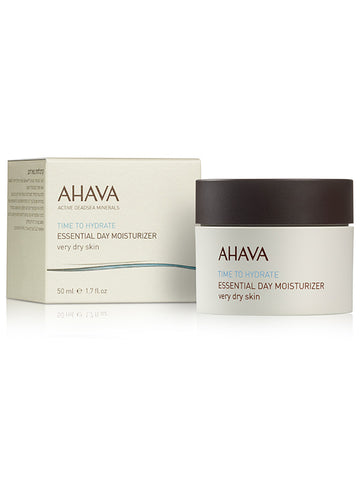 Ahava - Essential Day Moisturizer - Very Dry Skin - Dead Sea Cosmetics Shop