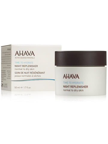 Ahava - Night Replenisher - Normal To Dry Skin - Dead Sea Cosmetics Shop