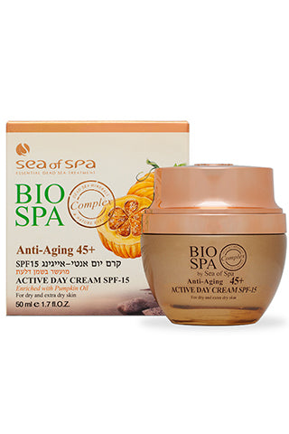 Bio Spa - Anti Aging 45+ Active Day Cream SPF-15