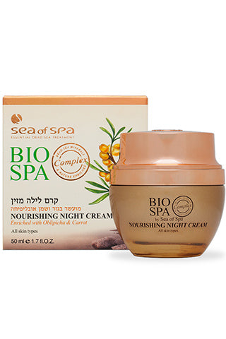 Bio Spa - Nourishing Night Cream enriched with Oblepicha & Carrot