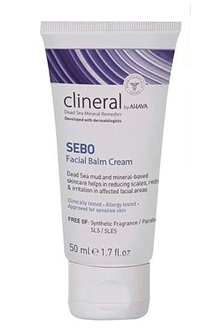 CLINERAL - SEBO Facial Balm Cream - Dead Sea Cosmetics Products