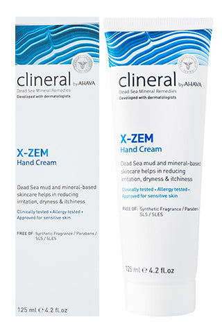 CLINERAL - X-ZEM Hand Cream - Dead Sea Cosmetics Products