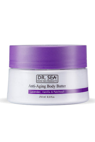 DR. SEA - Anti-Aging Body Butter with Lavender, Vanilla and Patchouli
