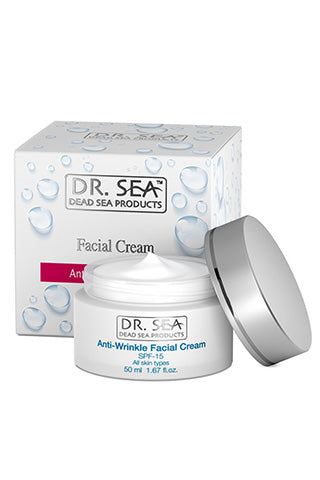 DR. SEA - Anti-Wrinkle Facial Cream SPF-15