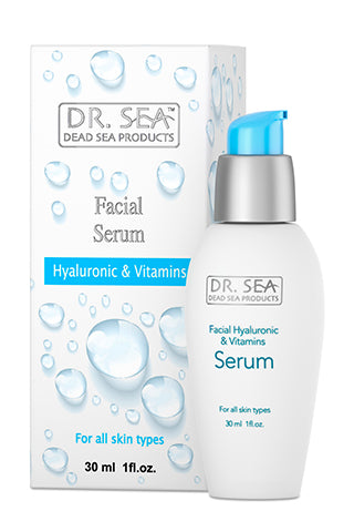 DR. SEA - Facial Serum with Hyaluronic Acid and Vitamins
