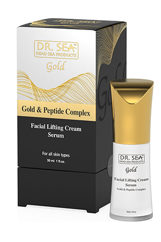 DR. SEA - Facial Lifting cream - serum with Gold and Peptide complex
