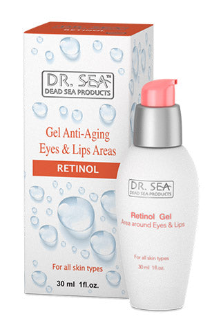 DR. SEA - Gel for the area around the Eyes and Lips with Retinol