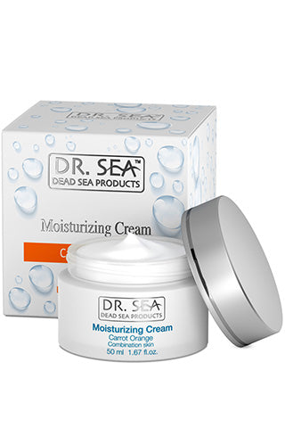 DR. SEA - Moisturizing Cream with Carrot Oil and Orange Extract