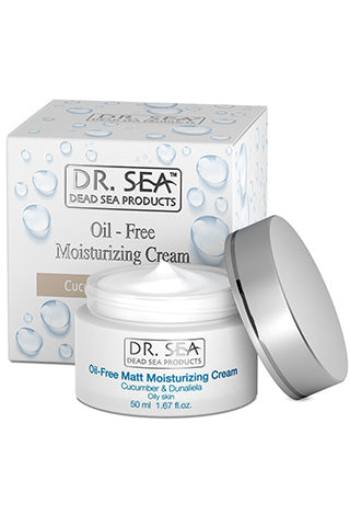 DR. SEA - Oil-Free Moisturizing Cream with Cucumber and Dunaliella Extracts