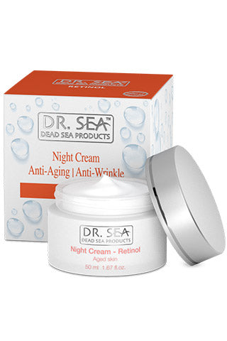 DR. SEA - Retinol Night Cream for aged skin