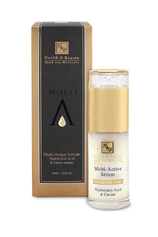 Health & Beauty - Multi-Active Serum with Hyaluronic acid and Caviar - Multi Active Line