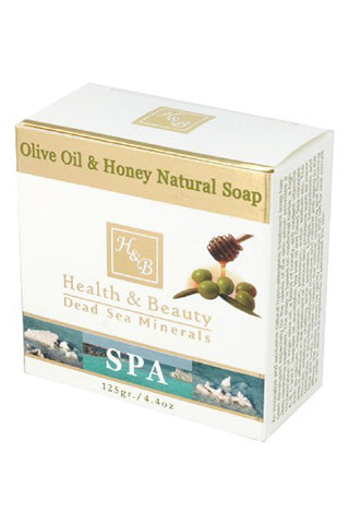 Health & Beauty - Olive Oil & Honey Natural Soap - Dead Sea Cosmetics Products