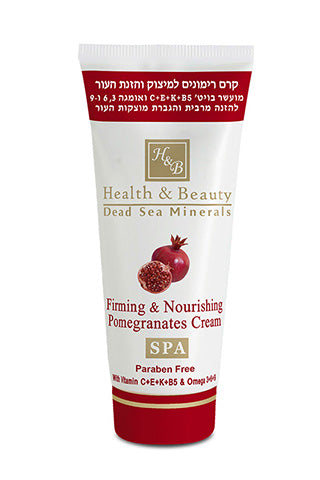 Health and Beauty - Firming & Nourishing Pomegranates Cream