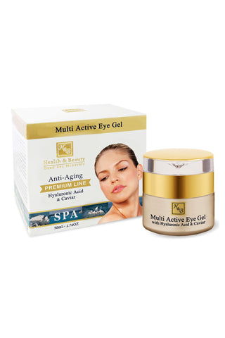 Health & Beauty - Multi Active Eye Gel - Dead Sea Cosmetics Shop
