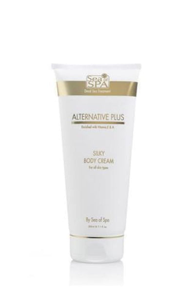 ALTERNATIVE PLUS - SILKY BODY CREAM INTENSIVE PROTECTION - Dead Sea Cosmetics Shop